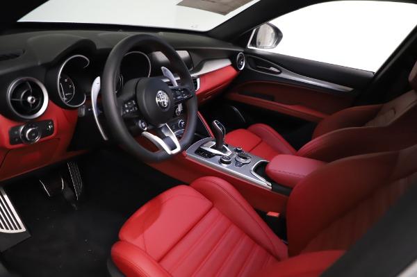 New 2021 Alfa Romeo Stelvio Ti Sport Q4 for sale $56,240 at Maserati of Westport in Westport CT 06880 13