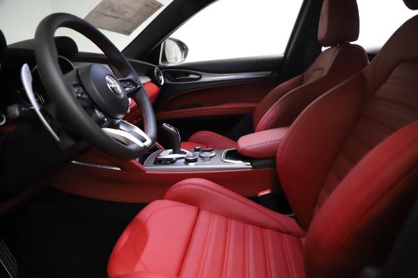 New 2021 Alfa Romeo Stelvio Ti Sport Q4 for sale $56,240 at Maserati of Westport in Westport CT 06880 14
