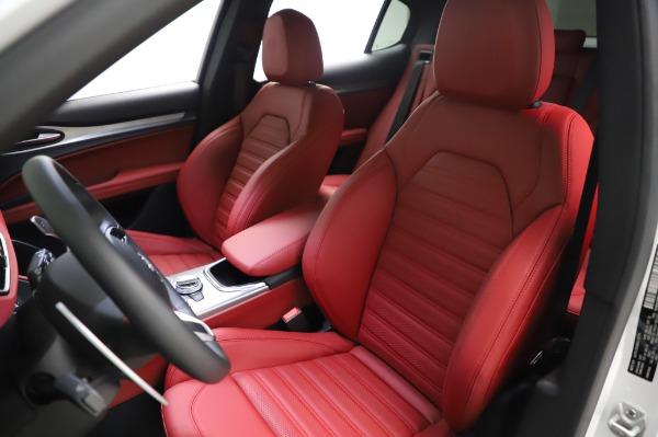 New 2021 Alfa Romeo Stelvio Ti Sport Q4 for sale $56,240 at Maserati of Westport in Westport CT 06880 15