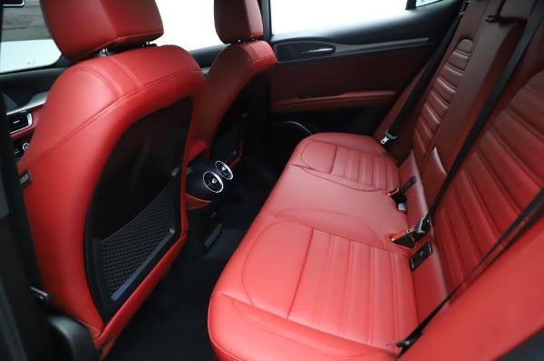 New 2021 Alfa Romeo Stelvio Ti Sport Q4 for sale $56,240 at Maserati of Westport in Westport CT 06880 19