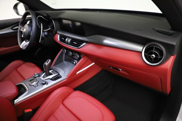 New 2021 Alfa Romeo Stelvio Ti Sport Q4 for sale $56,240 at Maserati of Westport in Westport CT 06880 22