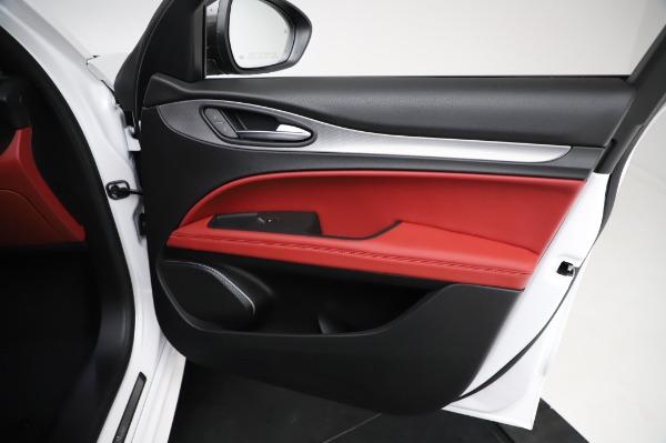 New 2021 Alfa Romeo Stelvio Ti Sport Q4 for sale $56,240 at Maserati of Westport in Westport CT 06880 24