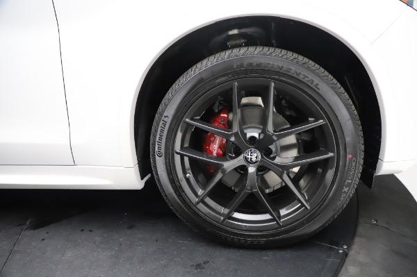 New 2021 Alfa Romeo Stelvio Ti Sport Q4 for sale $56,240 at Maserati of Westport in Westport CT 06880 28