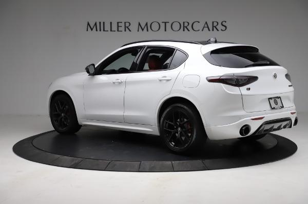 New 2021 Alfa Romeo Stelvio Ti Sport Q4 for sale $56,240 at Maserati of Westport in Westport CT 06880 4