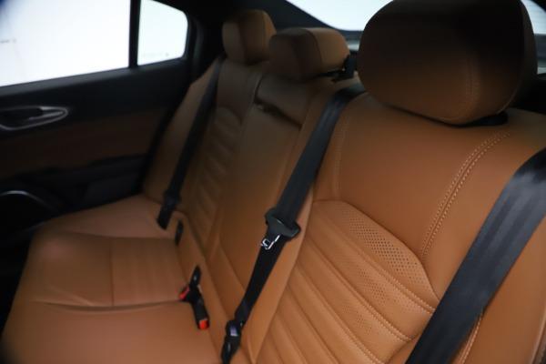 New 2021 Alfa Romeo Giulia Ti Sport Q4 for sale $54,050 at Maserati of Westport in Westport CT 06880 20