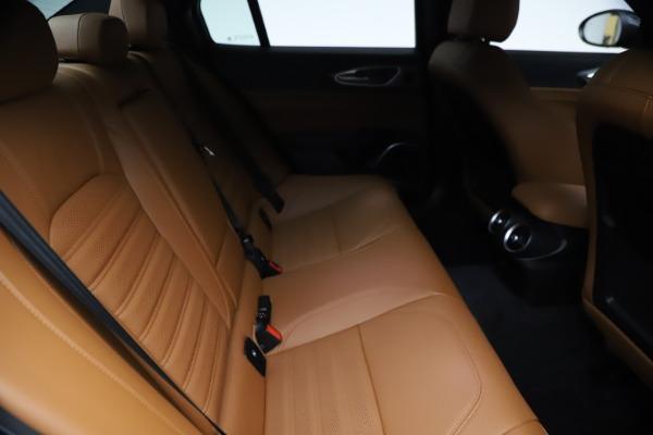 New 2021 Alfa Romeo Giulia Ti Sport Q4 for sale $54,050 at Maserati of Westport in Westport CT 06880 26