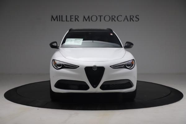 New 2021 Alfa Romeo Stelvio Ti Sport Q4 for sale Sold at Maserati of Westport in Westport CT 06880 13