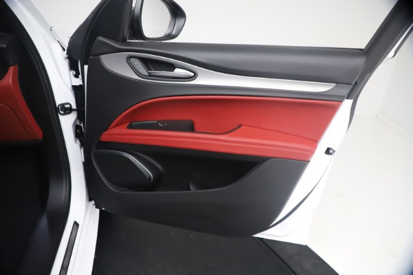 New 2021 Alfa Romeo Stelvio Ti Sport Q4 for sale Sold at Maserati of Westport in Westport CT 06880 24