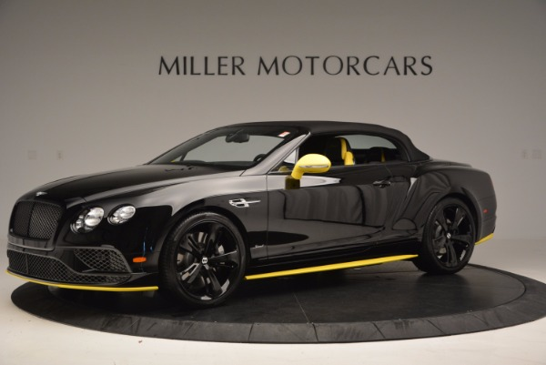 New 2017 Bentley Continental GT Speed Black Edition Convertible for sale Sold at Maserati of Westport in Westport CT 06880 11
