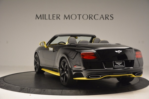 New 2017 Bentley Continental GT Speed Black Edition Convertible for sale Sold at Maserati of Westport in Westport CT 06880 5