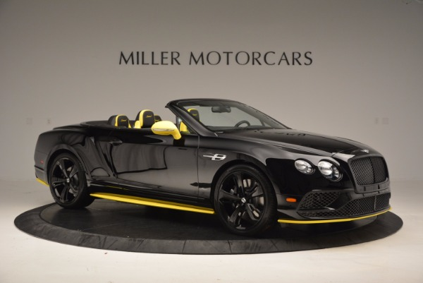 New 2017 Bentley Continental GT Speed Black Edition Convertible for sale Sold at Maserati of Westport in Westport CT 06880 7