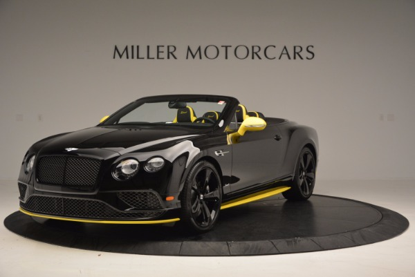New 2017 Bentley Continental GT Speed Black Edition Convertible for sale Sold at Maserati of Westport in Westport CT 06880 1