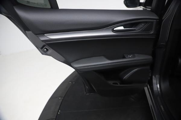 New 2021 Alfa Romeo Stelvio Ti Sport Q4 for sale $57,200 at Maserati of Westport in Westport CT 06880 16