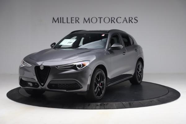 New 2021 Alfa Romeo Stelvio Ti Sport Q4 for sale $57,200 at Maserati of Westport in Westport CT 06880 2