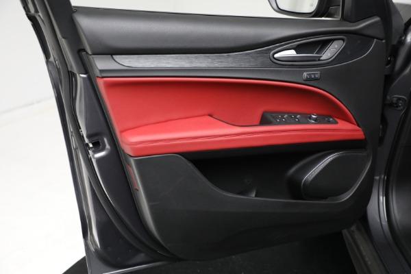New 2021 Alfa Romeo Stelvio Q4 for sale $50,445 at Maserati of Westport in Westport CT 06880 16