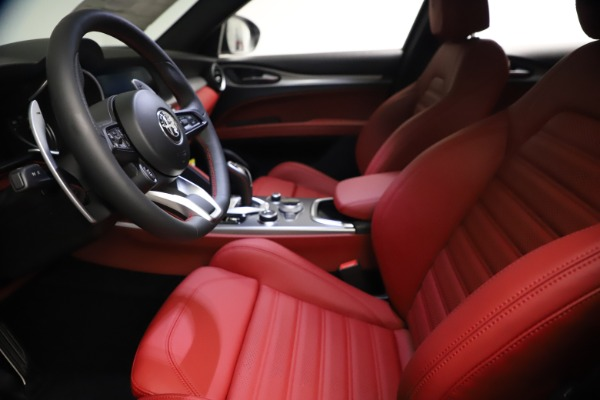 New 2021 Alfa Romeo Stelvio Ti Sport Q4 for sale $57,200 at Maserati of Westport in Westport CT 06880 15
