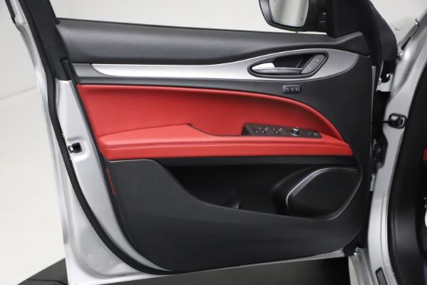 New 2021 Alfa Romeo Stelvio Ti Sport Q4 for sale $57,200 at Maserati of Westport in Westport CT 06880 17