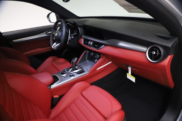 New 2021 Alfa Romeo Stelvio Ti Sport Q4 for sale $57,200 at Maserati of Westport in Westport CT 06880 21