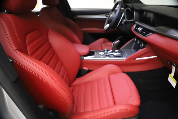 New 2021 Alfa Romeo Stelvio Ti Sport Q4 for sale $57,200 at Maserati of Westport in Westport CT 06880 22