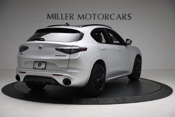 New 2021 Alfa Romeo Stelvio Ti Sport Q4 for sale $57,200 at Maserati of Westport in Westport CT 06880 7