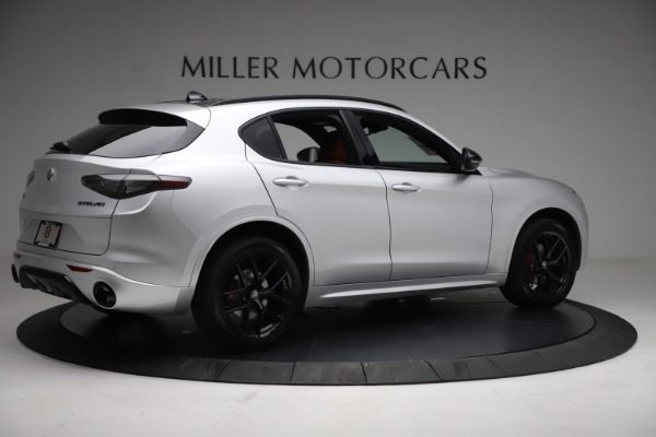 New 2021 Alfa Romeo Stelvio Ti Sport Q4 for sale $57,200 at Maserati of Westport in Westport CT 06880 8