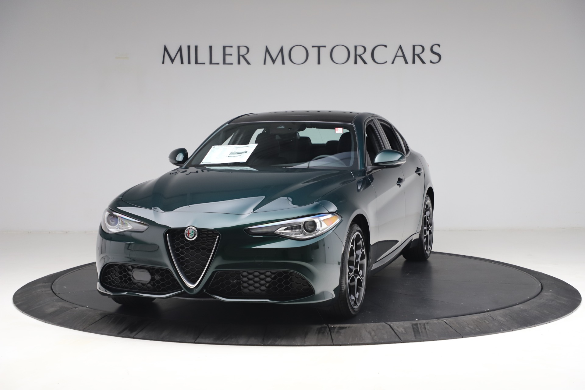 New 2021 Alfa Romeo Giulia Ti Sport Q4 for sale $53,050 at Maserati of Westport in Westport CT 06880 1