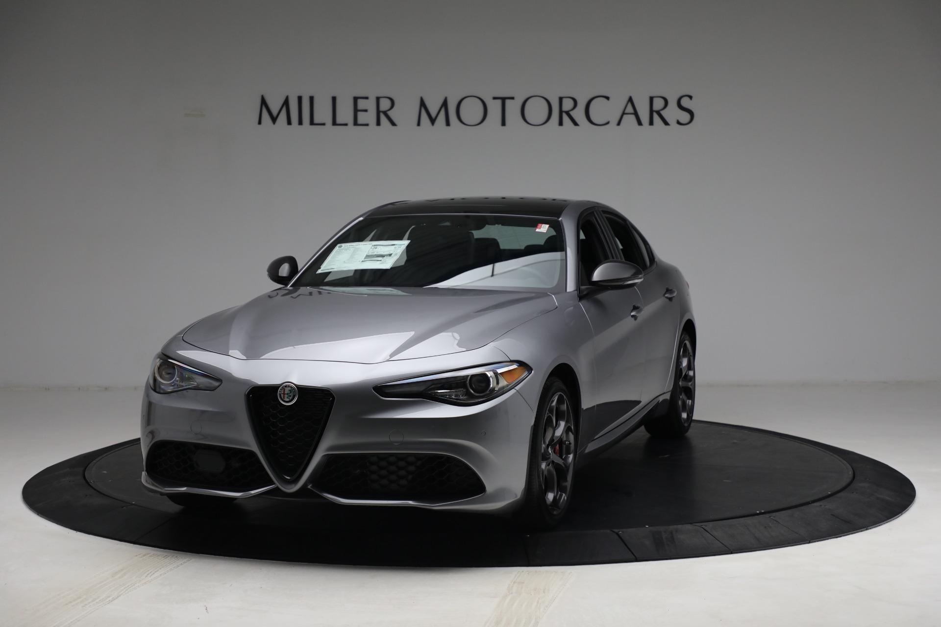 New 2021 Alfa Romeo Giulia Ti Sport Q4 for sale $54,050 at Maserati of Westport in Westport CT 06880 1