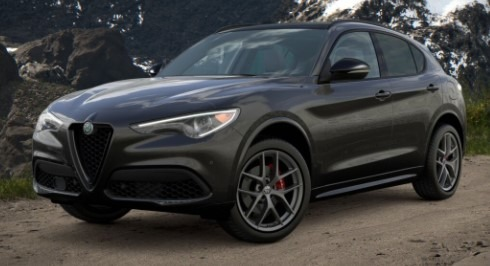 New 2021 Alfa Romeo Stelvio Ti Sport Q4 for sale $57,200 at Maserati of Westport in Westport CT 06880 1