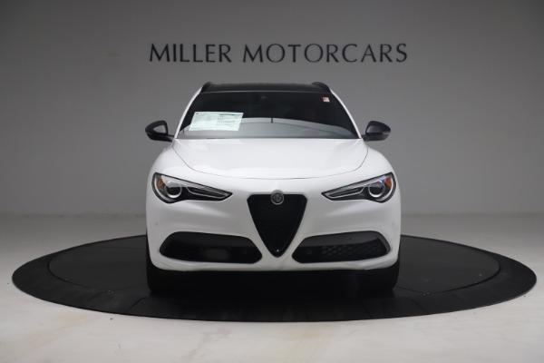 New 2021 Alfa Romeo Stelvio Ti Sport Q4 for sale $54,095 at Maserati of Westport in Westport CT 06880 13