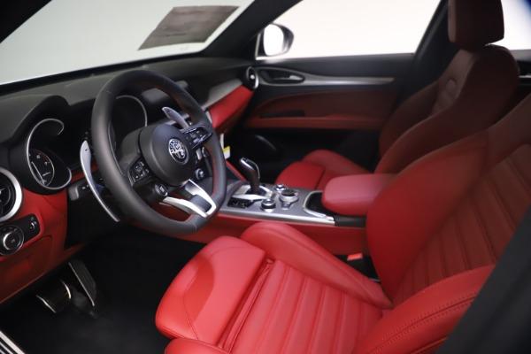 New 2021 Alfa Romeo Stelvio Ti Sport Q4 for sale $54,095 at Maserati of Westport in Westport CT 06880 14