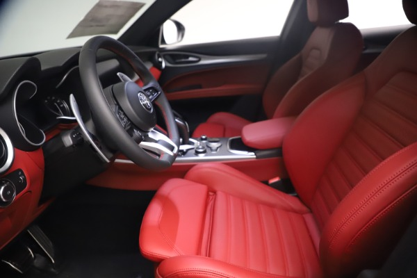 New 2021 Alfa Romeo Stelvio Ti Sport Q4 for sale $54,095 at Maserati of Westport in Westport CT 06880 15