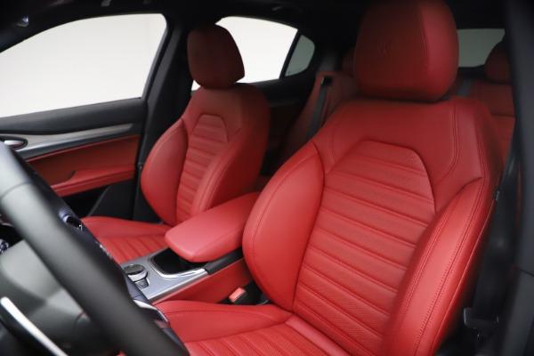 New 2021 Alfa Romeo Stelvio Ti Sport Q4 for sale $54,095 at Maserati of Westport in Westport CT 06880 16