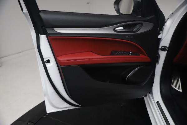 New 2021 Alfa Romeo Stelvio Ti Sport Q4 for sale $54,095 at Maserati of Westport in Westport CT 06880 17