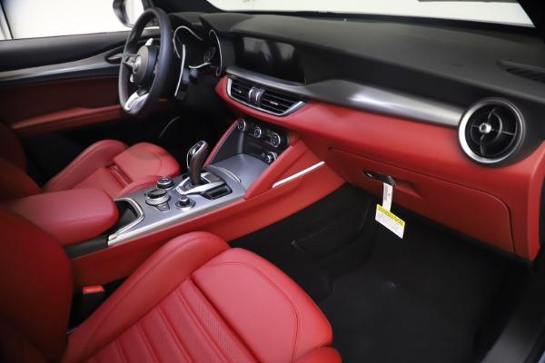 New 2021 Alfa Romeo Stelvio Ti Sport Q4 for sale $54,095 at Maserati of Westport in Westport CT 06880 22