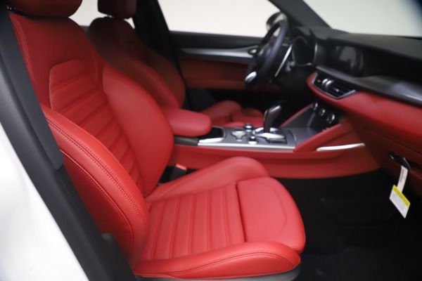 New 2021 Alfa Romeo Stelvio Ti Sport Q4 for sale $54,095 at Maserati of Westport in Westport CT 06880 23