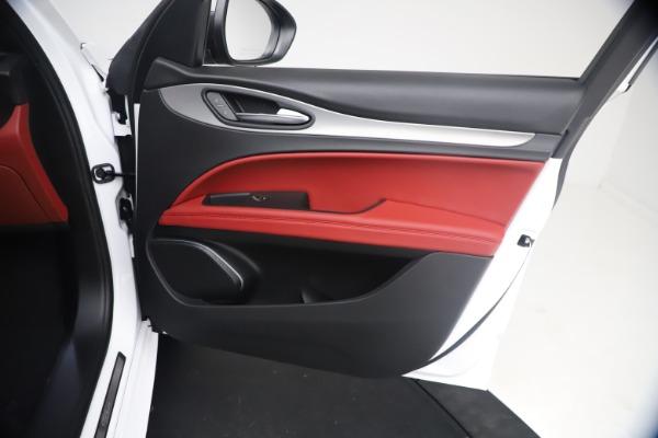 New 2021 Alfa Romeo Stelvio Ti Sport Q4 for sale $54,095 at Maserati of Westport in Westport CT 06880 24