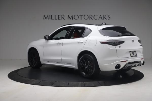 New 2021 Alfa Romeo Stelvio Ti Sport Q4 for sale $54,095 at Maserati of Westport in Westport CT 06880 5