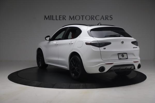 New 2021 Alfa Romeo Stelvio Ti Sport Q4 for sale $54,095 at Maserati of Westport in Westport CT 06880 6