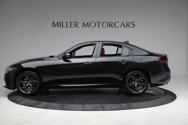 New 2021 Alfa Romeo Giulia Ti Sport Q4 for sale $54,050 at Maserati of Westport in Westport CT 06880 3