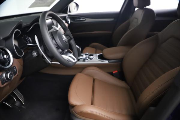 New 2021 Alfa Romeo Stelvio Ti Sport Q4 for sale $55,700 at Maserati of Westport in Westport CT 06880 13