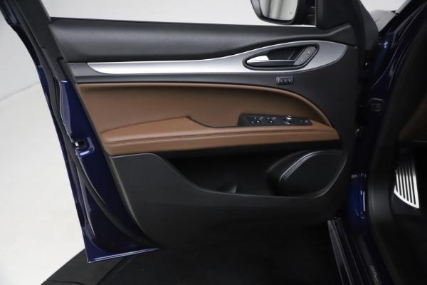 New 2021 Alfa Romeo Stelvio Ti Sport Q4 for sale $55,700 at Maserati of Westport in Westport CT 06880 15