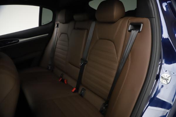 New 2021 Alfa Romeo Stelvio Ti Sport Q4 for sale $55,700 at Maserati of Westport in Westport CT 06880 18
