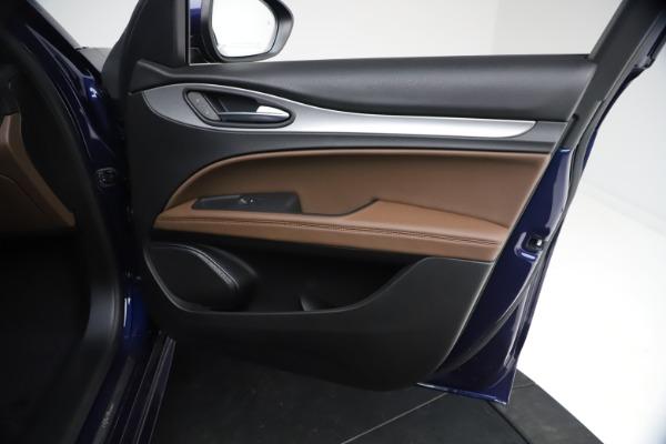 New 2021 Alfa Romeo Stelvio Ti Sport Q4 for sale $55,700 at Maserati of Westport in Westport CT 06880 22