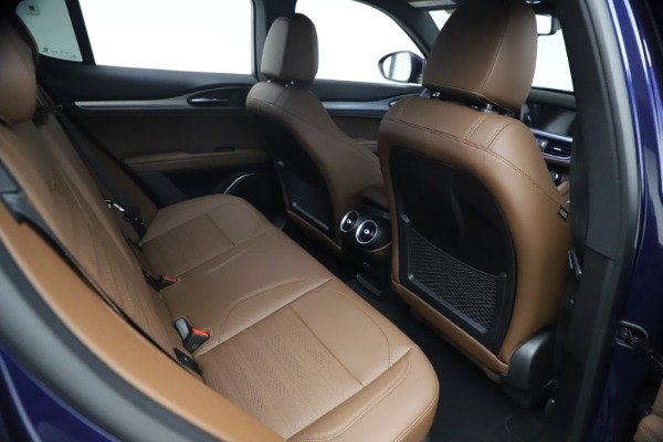 New 2021 Alfa Romeo Stelvio Ti Sport Q4 for sale $55,700 at Maserati of Westport in Westport CT 06880 23