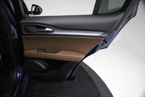 New 2021 Alfa Romeo Stelvio Ti Sport Q4 for sale $55,700 at Maserati of Westport in Westport CT 06880 25