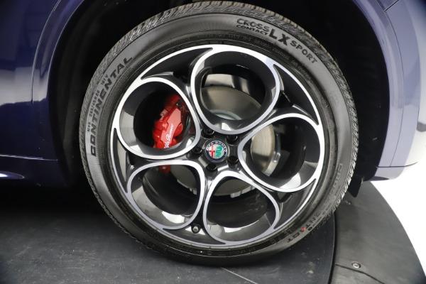 New 2021 Alfa Romeo Stelvio Ti Sport Q4 for sale $55,700 at Maserati of Westport in Westport CT 06880 26