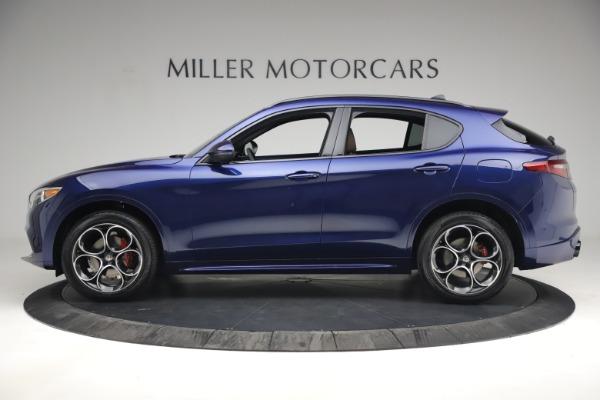 New 2021 Alfa Romeo Stelvio Ti Sport Q4 for sale $55,700 at Maserati of Westport in Westport CT 06880 3