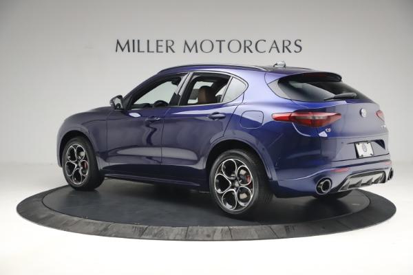 New 2021 Alfa Romeo Stelvio Ti Sport Q4 for sale $55,700 at Maserati of Westport in Westport CT 06880 4