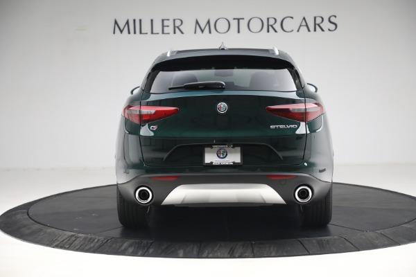 New 2021 Alfa Romeo Stelvio Q4 for sale $50,445 at Maserati of Westport in Westport CT 06880 6