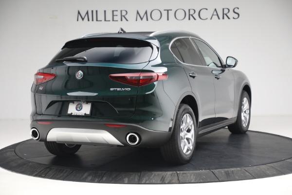 New 2021 Alfa Romeo Stelvio Q4 for sale $50,445 at Maserati of Westport in Westport CT 06880 7